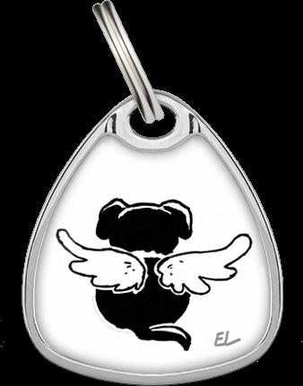 Petfindu® Schutzengel Kollektion Adressanhänger
