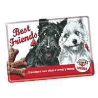 Nostalgic-Art Blechpostkarte Best Friends
