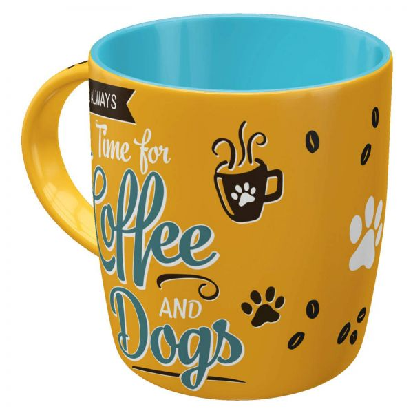 "Nostalgic-Art Tasse ""Coffee and Dogs"""
