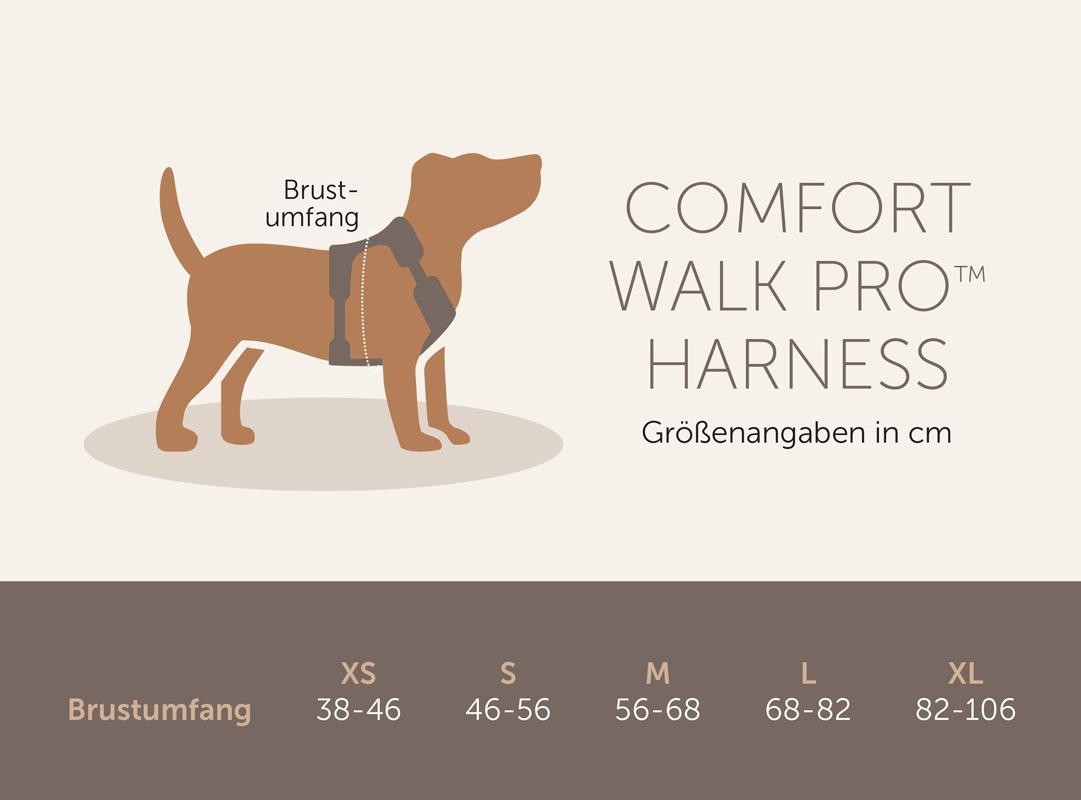 comfort-walk-pro-tabelle