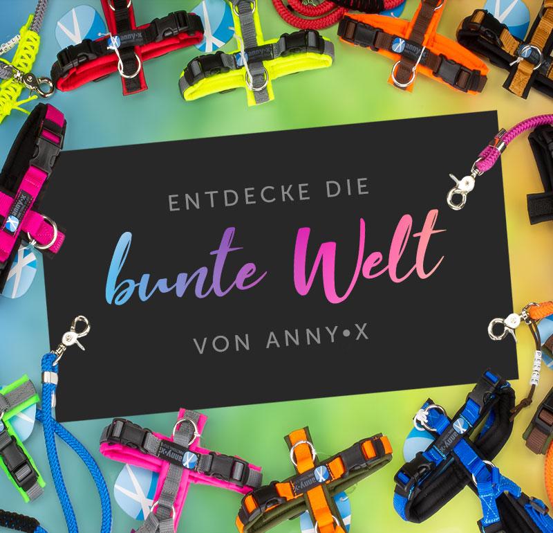 Anny•X Geschirre online kaufen bei Luna's Corner