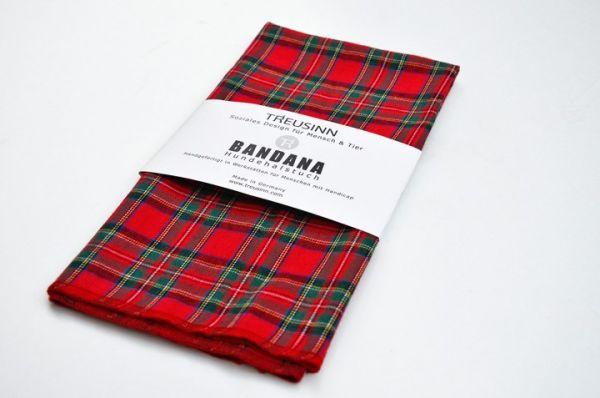 TREUSINN Hundehalstuch Bandana in 4 Farben