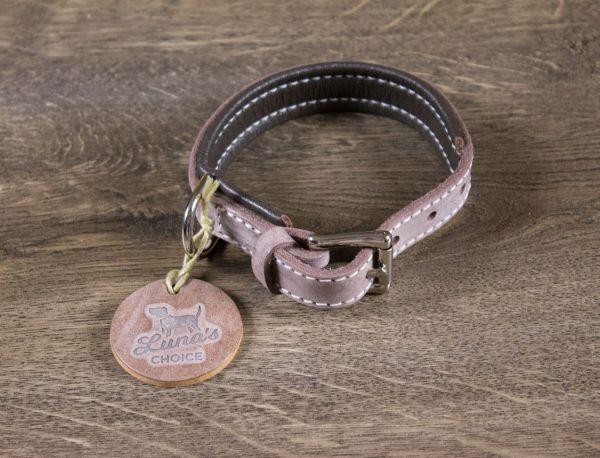 """Luna's Choice Halsband """"Street Style"""" gepolstert Breite 2,0cm / Länge 40cm"""
