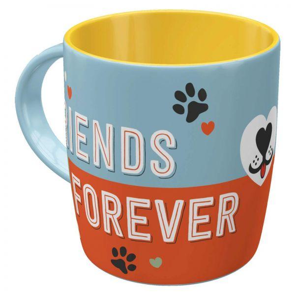 """Nostalgic-Art Tasse """"Friends forever"""""""